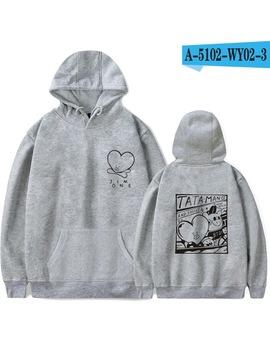 2018 Bts Kpop Love Yourself  Harajuku Oversized Hoodies Sweatshirts  Women/Men Winter Bangtan Boys Moletom K Pop Clothes 4xl by Luckyfridayf