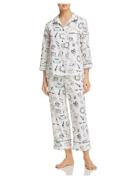 Bridal Printed Long Pj Set by Kate Spade New York