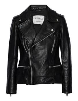 Liza Leather Biker Jacket by W118 By Walter Baker