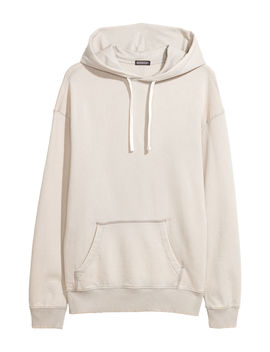 Sweat Shirt à Capuche Lavé by H&M