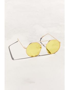Stylized Aviator Sunglasses by Urban Outfitters