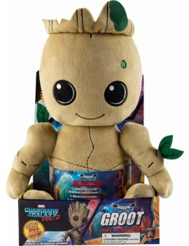 Kid Groot Guardians Of The Galaxy Phunny Plush Figure   Brown/White by Kidrobot