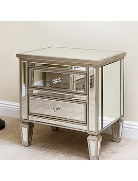 Abbyson Living® Omni Mirrored Accent Chest by Bed Bath And Beyond