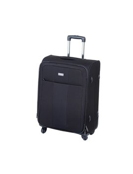Antler Salisbury Medium Expandable 4 Wheel Suitcase   Black by Argos