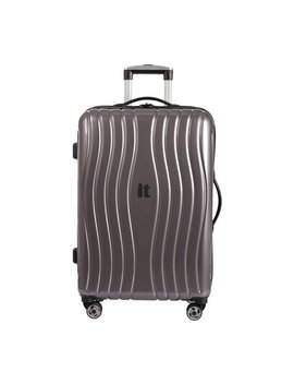It Luggage Medium 8 Wheel Hard Suitcase   Metallic by Argos