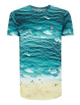 Hype Multi Beach T Shirt* by Topman