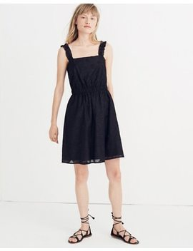 Jacquard Frill Strap Mini Dress by Madewell
