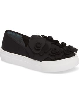 Alden Floral Embellished Slip On Sneaker by Caslon®