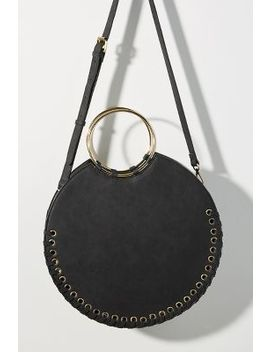 Marla Stitched Circle Bag by Anthropologie
