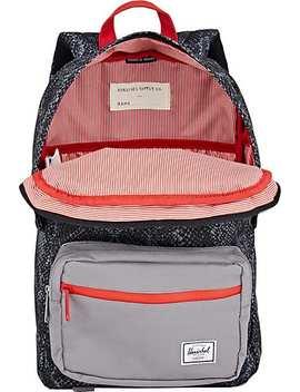 Snakeskin Print Backpack by Herschel Supply Co.
