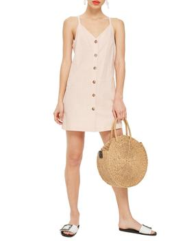 Button Mini Slip Dress by Topshop