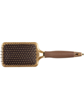 Nano Thermic Ceramic + Ion Large Paddle Brush by Olivia Garden