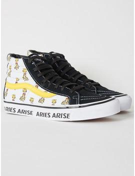 Vans X Aries Arise Sk8 Hi   White by Garmentory