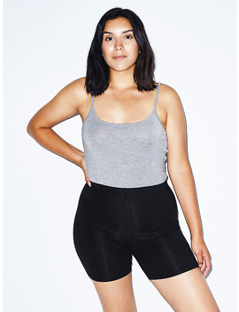 Cotton Spandex Bike Short by American Apparel