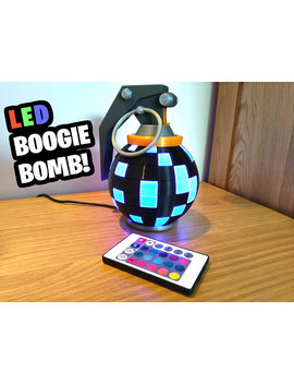 Fortnite Boogie Bomb Desk Lamp! Fortnite Gift, Gamer Gift, Battle Royale, Gift For Boyfriend, Gamer Birthday, Fortnite Birthday,Son Birthday by The3 D Print Space