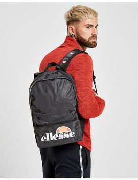 Ellesse Camo Backpack by Ellesse
