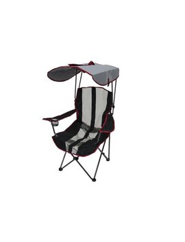Kelsyus Premium Canopy Foldable Outdoor Lawn Chair With Cup Holder, Red | 80187 by Kelsyus