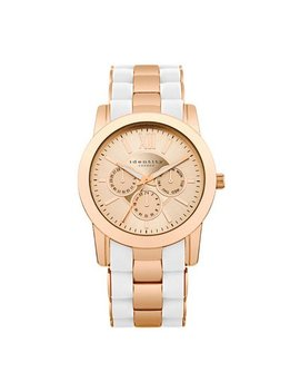 Identity London Rose And White Bracelet Strap Watch by Argos
