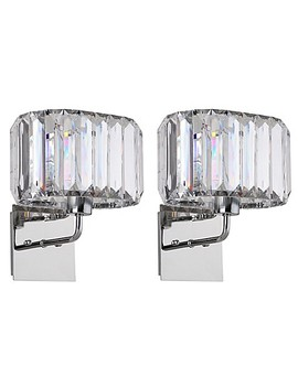 Safavieh Athena 11.25 Inch 1 Light Wall Sconces In Nickel (Set Of 2) by Bed Bath And Beyond