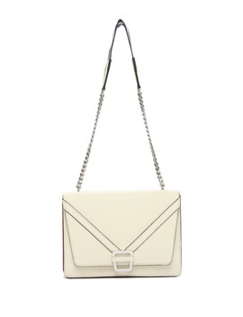 Madeline Accordion Leather Shoulder Bag by Sam Edelman