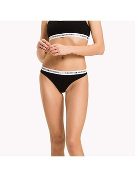 Stretch Cotton Thong by Tommy Hilfiger