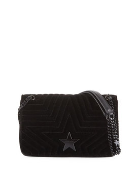 Velvet Star Medium Shoulder Bag by Stella Mc Cartney