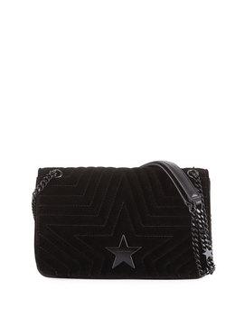 Velvet Star Medium Shoulder Bag by Stella Mc Cartney
