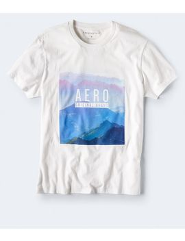 Aero Original Mountains Graphic Tee by Aeropostale