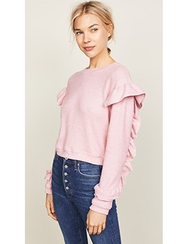Darlene Ruffle Sweater by Wayf