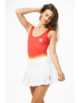 Wilson Pleated Tennis Skort by Forever 21