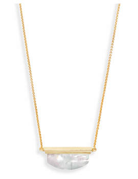 Dean Pendant Necklace In Ivory Pearl by Kendra Scott