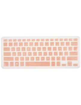 "Keyboard Protector Skin For Dell Xps 15 9570 15 9550 15 9560 15.6"" Laptop, Dell Precision 15 5510 M5510 Us Layout(Not Fit Dell Xps 15 9575), Rose Gold by Case Buy"