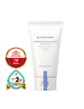 Innisfree Blueberry Rebalancing 5.5 Cleanser   100ml  Free Shipping by Innisfree