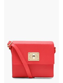 Structured Lock Cross Body by Boohoo
