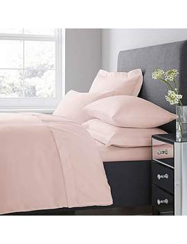 Fogarty Soft Touch Dusky Pink Duvet Cover And Pillowcase Set by Dunelm