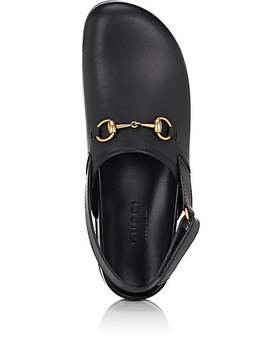 River Leather Slippers by Gucci
