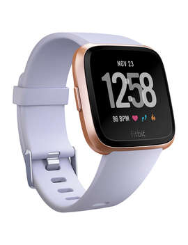 Fitbit Versa Smart Fitness Watch, Periwinkle/Rose Gold by Fitbit
