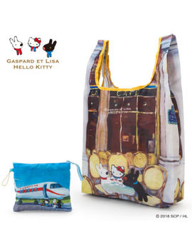 Gaspard Et Lisa X Hello Kitty Sanrio My Bag Eco Bag (Cafe) Japan New Free Ship by Ebay Seller