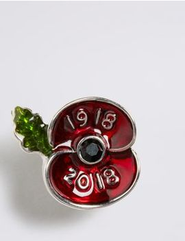 The Poppy Collection® Hero Poppy Pin by Marks & Spencer