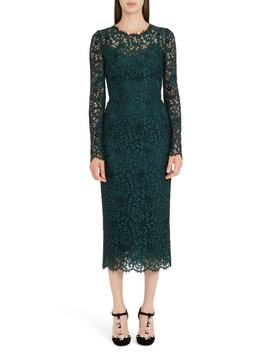 lace-pencil-dress by dolce&gabbana