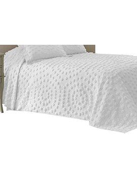Nostalgia Home 028828374455 Bedspread, Twin, White by Nostalgia Home