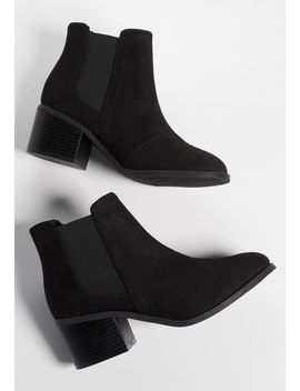 Chelsea Double Gore Bootie by Maurices