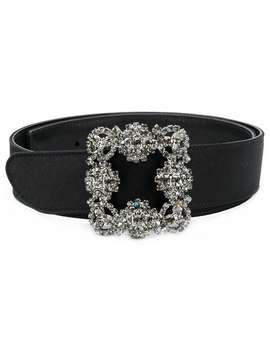 Manolo Blahnikembroidered Buckle Belthome Women Manolo Blahnik Accessories Belts by Manolo Blahnik