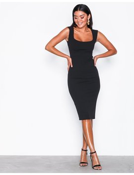 Push Up Neckline Dress by Nly One