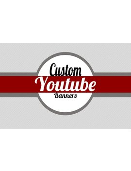 Custom Youtube Channel Art by Etsy