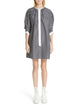 Vertical Stripe Drop Shoulder Dress by Marc Jacobs