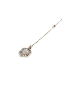 **Drop Opal Stone Choker Necklace by Topshop