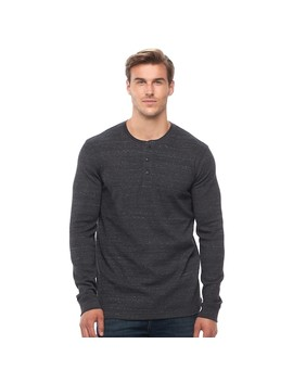 Big & Tall Sonoma Goods For Life™ Performance Thermal Henley by Kohl's
