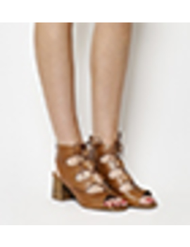 Mallorca Ghillie Block Heels by Office