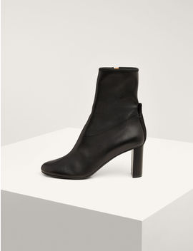 Frida Block Heel Ankle Boot by Joseph